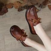 真皮女鞋  休闲鞋