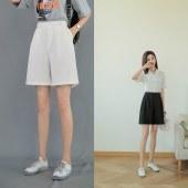 女西装短裤8090款