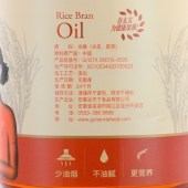 谷太太纯正醇香米糠油4L