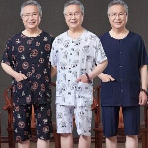 棉绸家居服套装