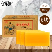 优生活洗衣皂 180g*6块 YSH-52