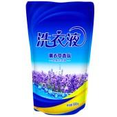 优生活薰衣草香洗衣液 500g*4袋 YSH-12
