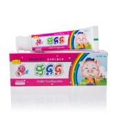舒王牙乐乐儿童果味牙膏 60g*3支