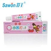 舒王小苏打儿童果味牙膏 50g*3支