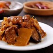 宁波特产即食烤麸四鲜烤麸下酒菜带叉300g