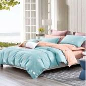 雍华 AB双面版纯棉印花 被套 枕套 家纺 床上用品