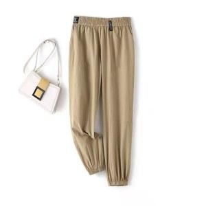男女时尚休闲运动裤薄2117款