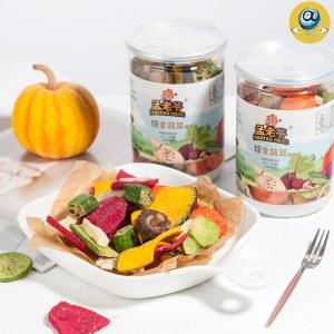 【孟老爷】综合蔬菜干100g*5罐