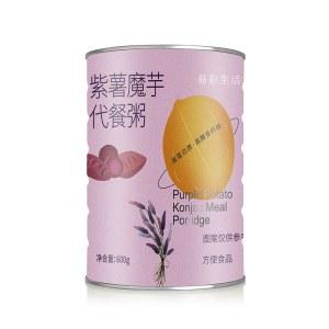奶昔紫薯魔芋代餐粥