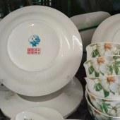 景德镇市永昌和陶瓷华云特供二十八件(清香百合)餐具