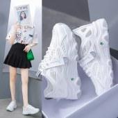 韩版老爹女鞋网面