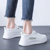 韩版百搭小白鞋女