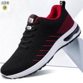 诗地亚 男鞋休闲运动透气网布鞋