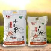 农家庭院小麦粉