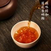 安化黑茶湖南益阳2014年特制茯砖茶400克正品国津陈茶