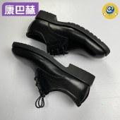 康巴赫专利抗菌小牛皮男鞋