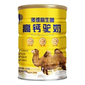 多维益生菌高钙驼奶