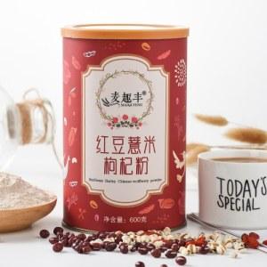 麦趣丰红豆薏米枸杞粉600g(9罐装)