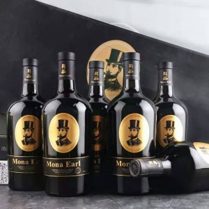 云穆庄园霍夫曼顿干红葡萄酒6支礼盒装