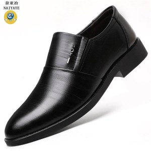 奈亚冶 男士休闲鞋商务男鞋6601