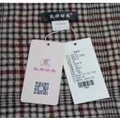 凯妍时尚 100%羊毛四季薄款英伦风格围巾披肩