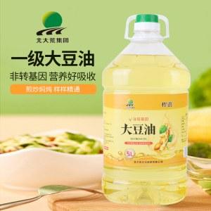 桦语 非转基因大豆油5L