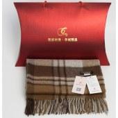 凯妍时尚 100%羊毛英伦格子披肩