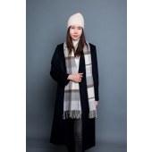 凯妍时尚 100%羊毛格子披肩