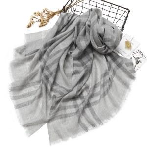凯妍时尚100%羊绒精纺高档披肩