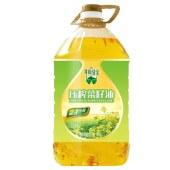 一级压榨菜籽油5L