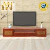 金明豪海棠原木实木全屋定制新中式现代简约电视柜