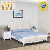 金明豪原木家具整屋定制全实木美式现代主卧婚床双人大床