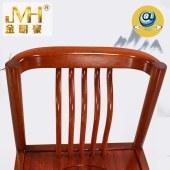 金明豪实木家具全屋定制原木新中式现代餐厅餐桌椅