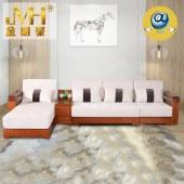 金明豪实木家具家居全屋定制新中式现代简约原木客厅组合沙发