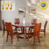 家具家居实木红木新中式现代全屋定制中式餐厅餐桌椅组合