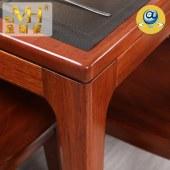 家具家居实木全屋定制新中式现代红木餐厅中式餐桌椅组合