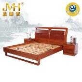 家具实居实木红木新中式现代中式全屋定制简约1.8米1.5米卧室双人床