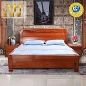 家具家居实木家具红木新中式现代中式全屋定制整木固装原木1.8米婚床双人大床