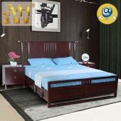 家具家居实木红木新中式现代中式全屋定制整木固装1.8米卧室简约大床